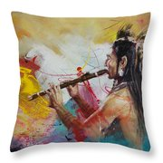 First Nations 22 Throw Pillow