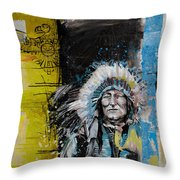 First Nations 33 Throw Pillow