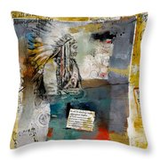 First Nations 34 Throw Pillow