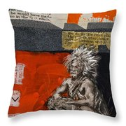 First Nations 36 Throw Pillow