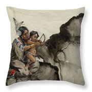 First Nations 38 Throw Pillow