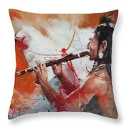 First Nations 39 Throw Pillow