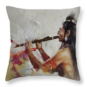 First Nations 40 Throw Pillow