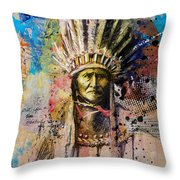First Nations 6 Throw Pillow