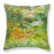 First Of July Throw Pillow