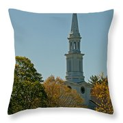 First Parish - Lexington Throw Pillow