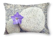 First Periwinkle  Throw Pillow