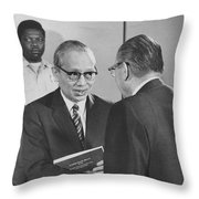 First Recorded Peace Treaty Throw Pillow