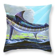 First Run 00102 Throw Pillow