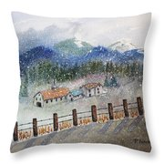 From The Road Throw Pillow