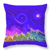 First Star Sunrise Throw Pillow