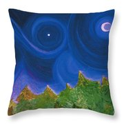 First Star Wish By Jrr Throw Pillow