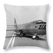 First Supersonic Aircraft, Bell X-1 Throw Pillow