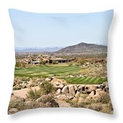 First Tee Throw Pillow