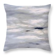 First Thaw Throw Pillow