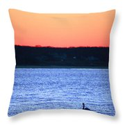 First To Sea Throw Pillow