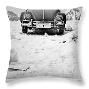 First To The Bottom Throw Pillow