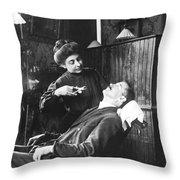 First Women Dentists Throw Pillow