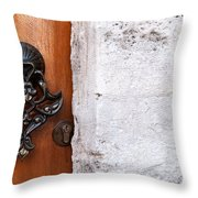 Firuz Aga Mosque Door 10 Throw Pillow
