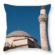 Firuz Aga Mosque Throw Pillow
