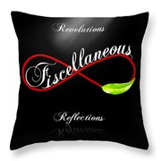 Fiscellaneous Throw Pillow