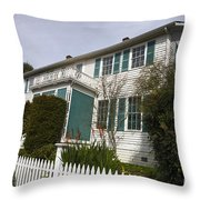 Fischer-hanlon House Benicia California Throw Pillow