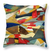 Fish 1 Throw Pillow by Danielle Nelisse
