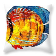 Fish 502-11-13 Marucii Throw Pillow