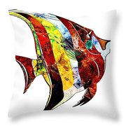 Fish 505-11-13 Marucii Throw Pillow