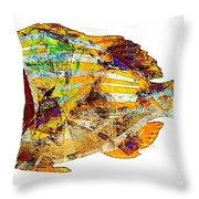 Fish 506-11-13 Marucii Throw Pillow