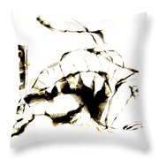 Fish 611-12-13 Marucii Throw Pillow