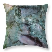 Fish Abstract Throw Pillow