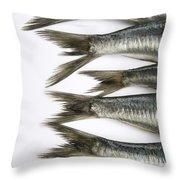 Fish Throw Pillow by Bernard Jaubert