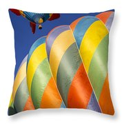 Fish In The Sky Throw Pillow by Garry Gay