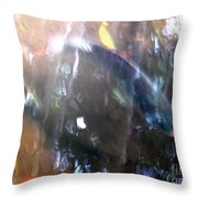Fish In The Water Throw Pillow