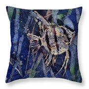 Fish N Flips Throw Pillow