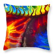 Fish Tales Throw Pillow by Omaste Witkowski