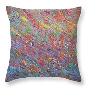 Fish To The Top Throw Pillow