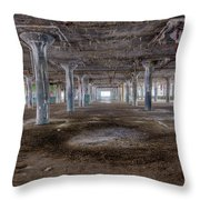 Fisher Body Plant 21 -6 Throw Pillow