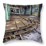 Fisher Body Plant 21 -8 Throw Pillow
