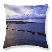 Fisherman - Sicily Throw Pillow