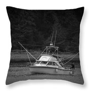 Fisherman's Catch Throw Pillow