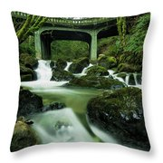 Fisherman's Creek Throw Pillow