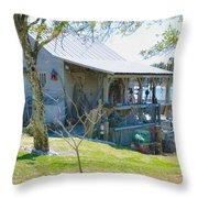 Fisherman's House 2 Throw Pillow