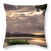 Fisherman's Sky Throw Pillow