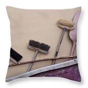 Fishermen's Terminal  Throw Pillow