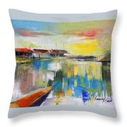 Fishers Haven Throw Pillow