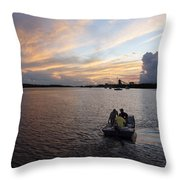Fishers Of The Night Throw Pillow
