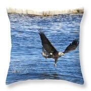 Fishing Ballet Throw Pillow