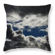 Fishing In The Sky Throw Pillow